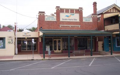 Image of the Culcairn Library exterior