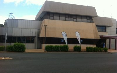 Image of Bland Library exterior