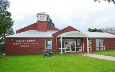 Image of the Mulwala Library exterior