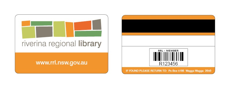 Image of Library member card
