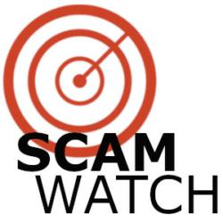 Scam watch logo image